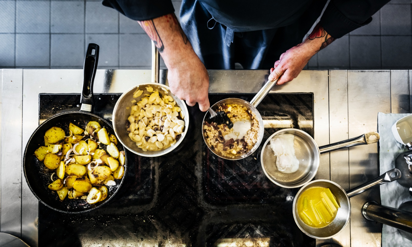 What's your next late cooking may teach you about startups
